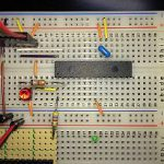 C言語でPIC18F、まずはLチカ (LED点滅)