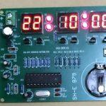 「6桁LED時計キット [K-SHE879]」 完成