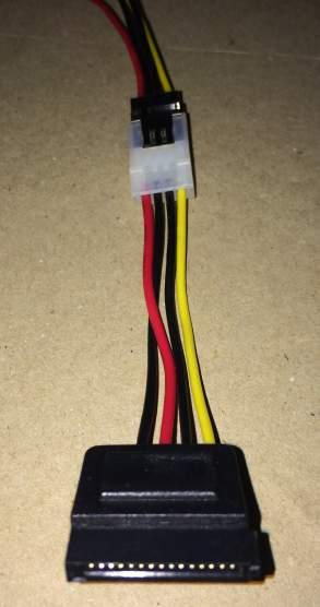 FDD用のコネクタにOWL-CBPU016変換ケーブルを接続