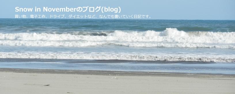 Snow in Novemberのブログ(blog)