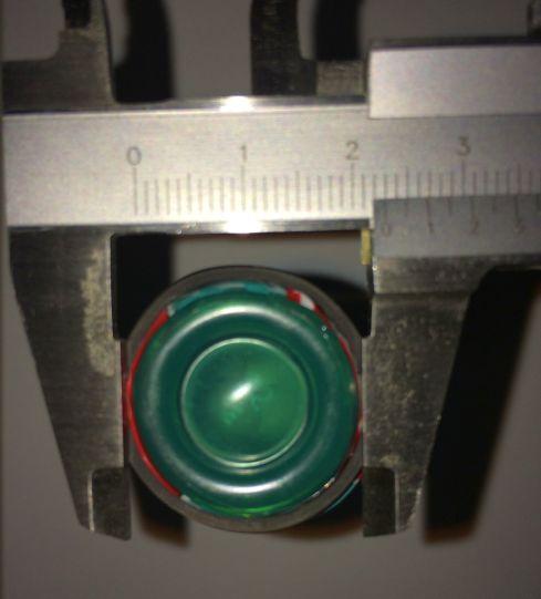 DVDドライブ(SH-S243)内径