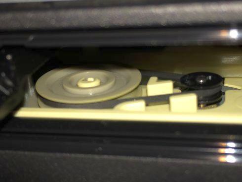 DVDドライブ(SH-S243)ゴムベルト交換後