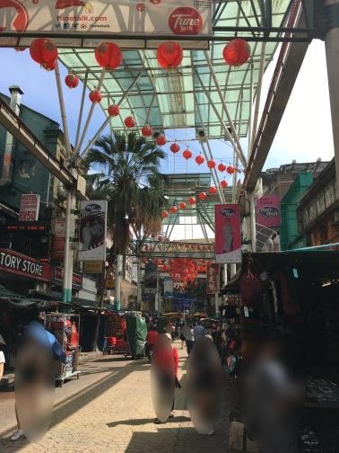 クアラルンプールの中華街(チャイナタウン)2