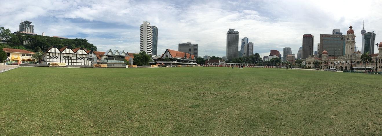 独立広場のムルデカ・スクエア(Dataran Merdeka)