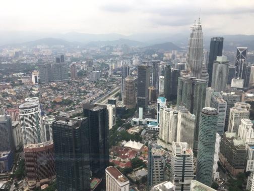 マレーシア一人旅、KLタワー、バツー洞窟などを見に行ってきました。その1