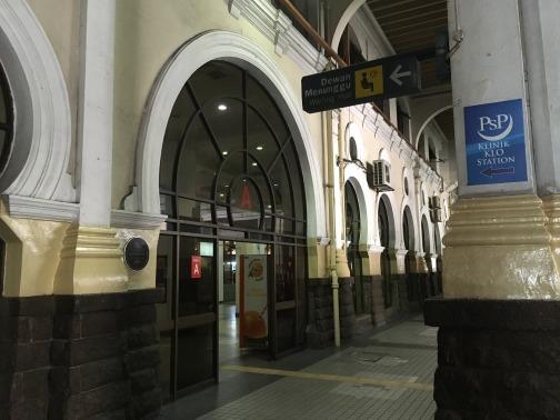 KTM鉄道のクアラルンプール駅(Kuala Lumpur) 入り口