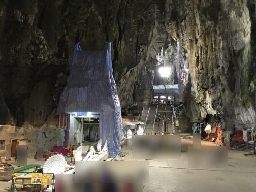 バツー洞窟(Batu Caves) 入り口
