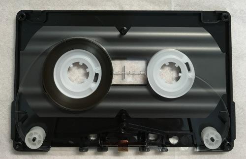 セリアのカセットテープ 分解