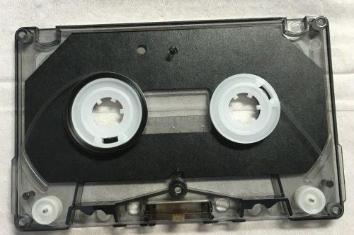 オーディオテクニカの音声入カセット・クリニカ AT5009 両方のハブ交換後