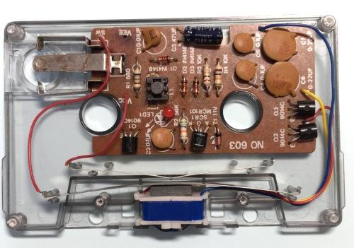 オーディオテクニカのAT5021 電池ホルダ接点清掃