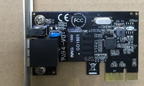 PCがインターネットにつがらない。LANボード修理で復活成功!