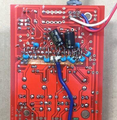 NFJ Tripath製TA2020-020デジタルアンプキットの改造