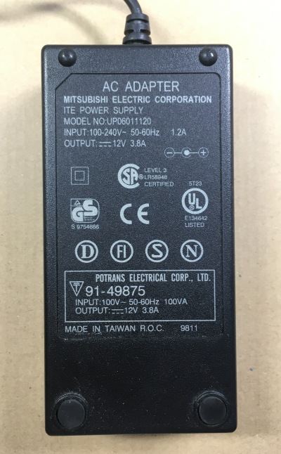 NFJ TA2020-020デジタルアンプキットの改造 ACアダプタ12V