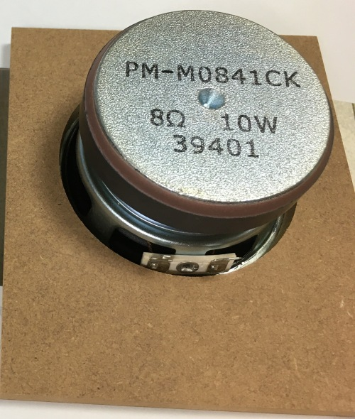 PM-M0841CK スピーカー接着後