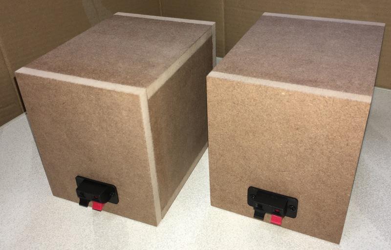 PM-M0841CK スピーカーボックス自作 背面