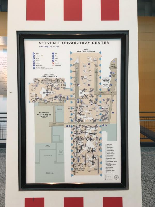 ウドバーハジーセンター内 案内図