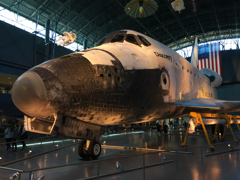 ウドバーハジーセンター スペースシャトル ディスカバリー