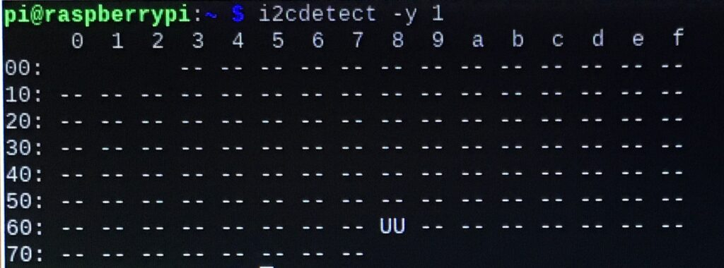 RTCモジュール接続 設定後