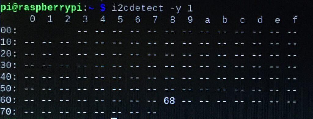 RTCモジュール接続 設定前