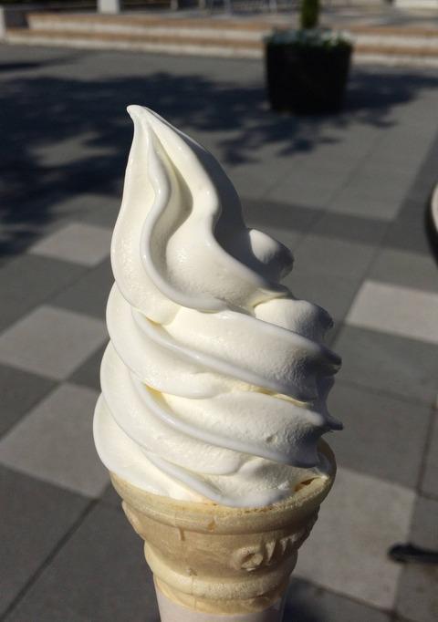 富士山麓 ソフトクリーム