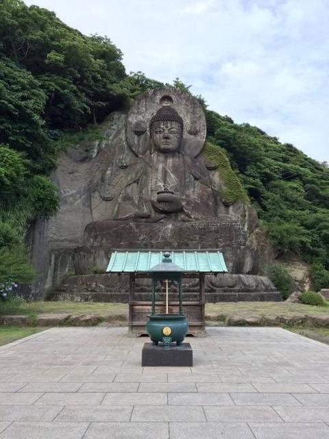 鋸山 日本一の大仏
