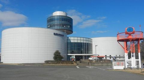 成田 の 航空科学博物館 外観