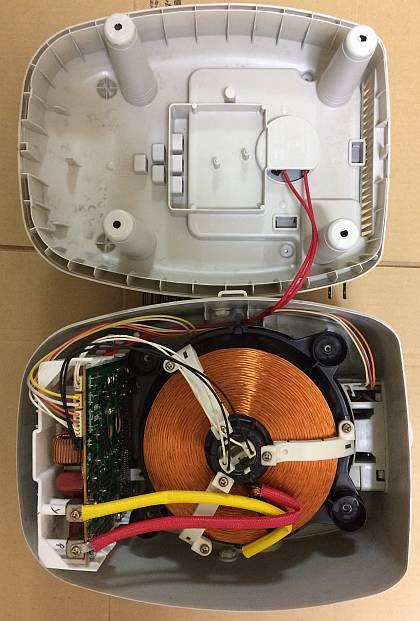 炊飯器(象印)のバックアップ電池交換(リチウム電池交換)、時計表示が復活!