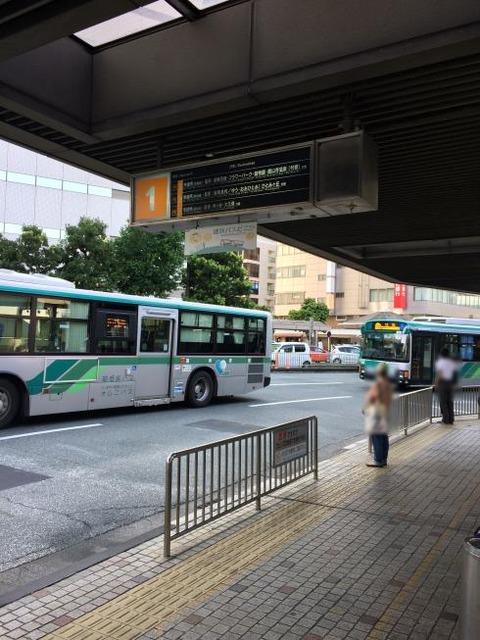 遠鉄バス 浜松駅バス停留所