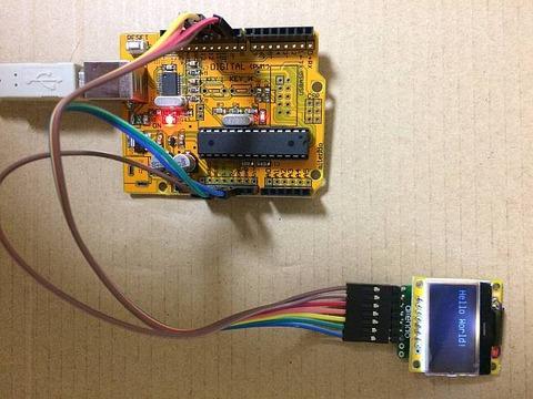 びんぼうでいいの with LCD [U3RLCD12864S]」 Arduino UNO互換機 の組立