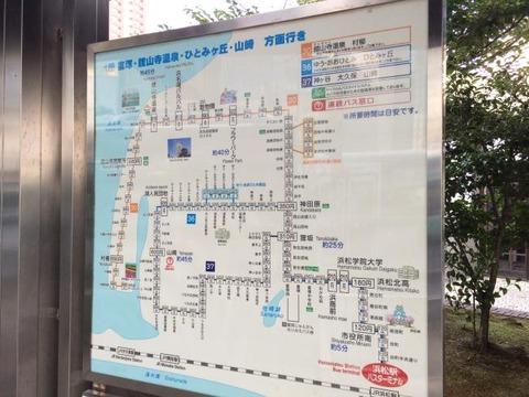 浜松駅 遠鉄バス 路線図