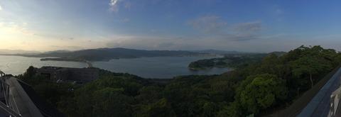 浜名湖 展望台 眺め
