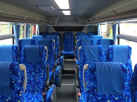 扇沢駅行きバス シート