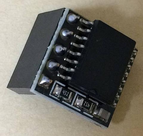 DS3231 高精度 RTC モジュール リアルタイム クロック モジュール 外観 表から