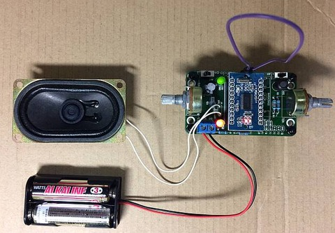 「最強版DSPコアTINYラジオキット K-SPK6959B C版」動作しました。