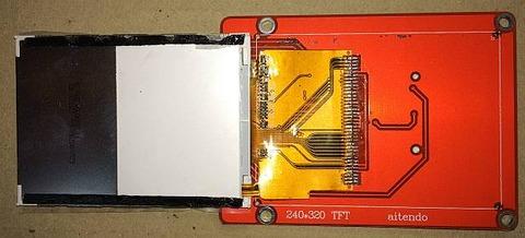 M028C9325TP のLCD本体を剥がした